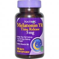 Melatonin Time Release 5мг (100таб)